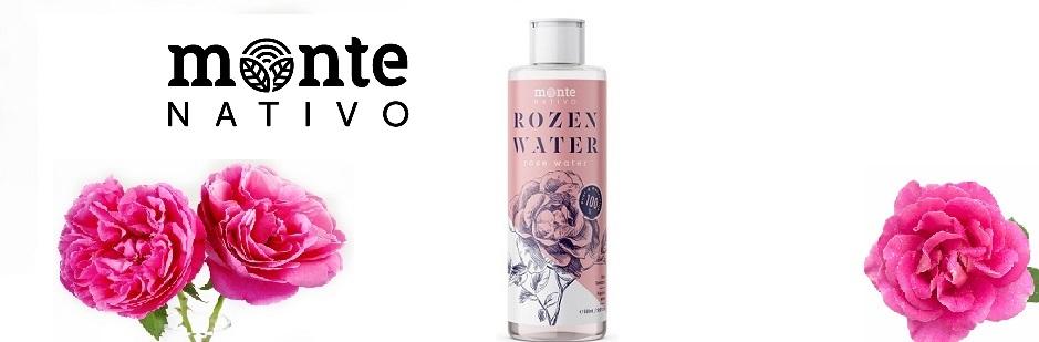 Monte Nativo Rozenwater 200ml - exclusief bij Beautystuff verkrijgbaar!