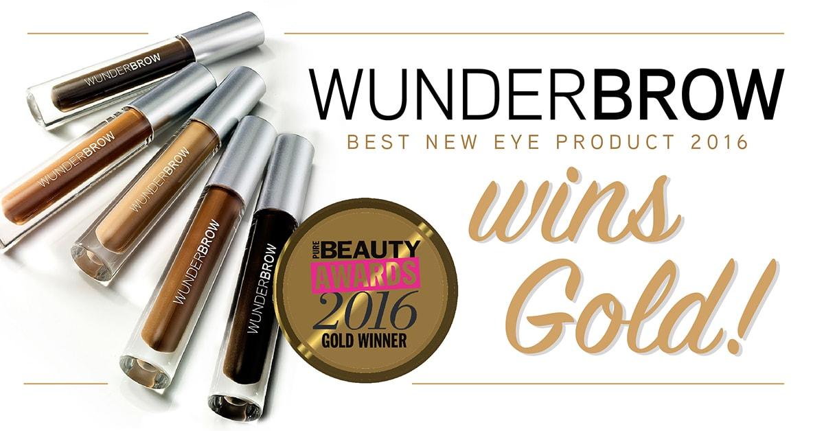 wunderbrow-award-banner